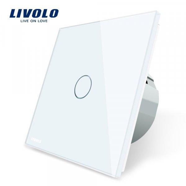 Сенсорный выключатель Livolo в духе Минимализма (4 цвета)