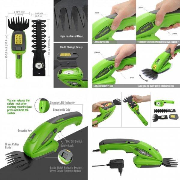 Ножницы для стрижки живой изгороди от WORKPRO