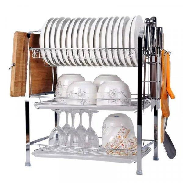 3-х уровневая сушилка для посуды от GREEN LIFESYILE