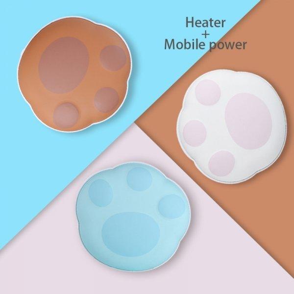 Карманная Usb-грелка для рук не даст замерзнуть POCHOS 5 В (3 цвета, 87,3*83*35 мм)