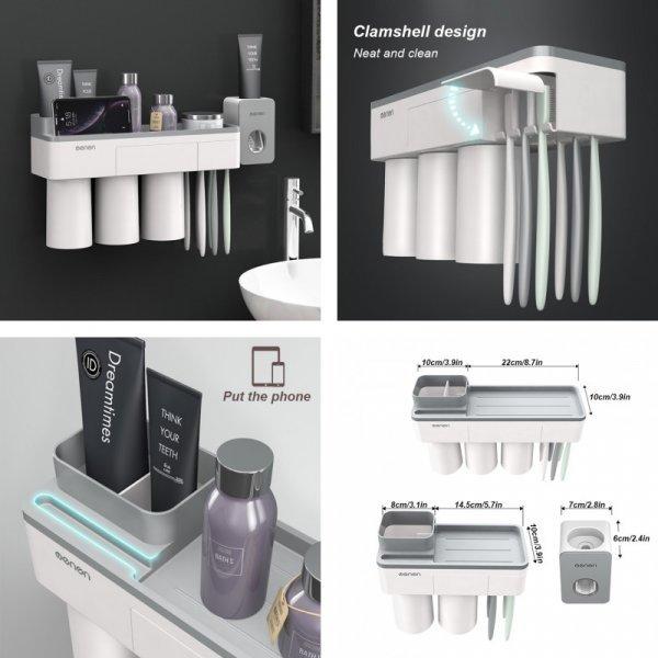 Магнитный держатель GESEW  для зубных щеток и косметики