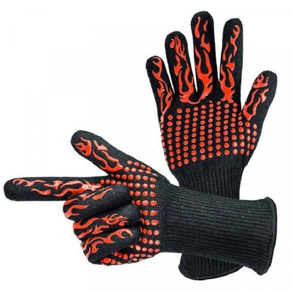 Термостойкие рукавицы для мангала от PQZATX (1 пара, 4 цвета)