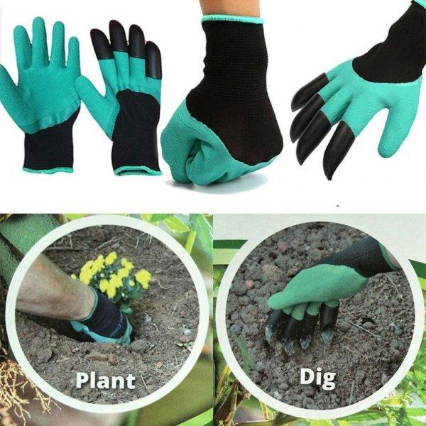 Супер перчатки для работ на грядках DRTOOLS