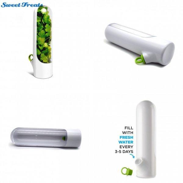 Контейнер для хранения зелени - свежесть на все 100%