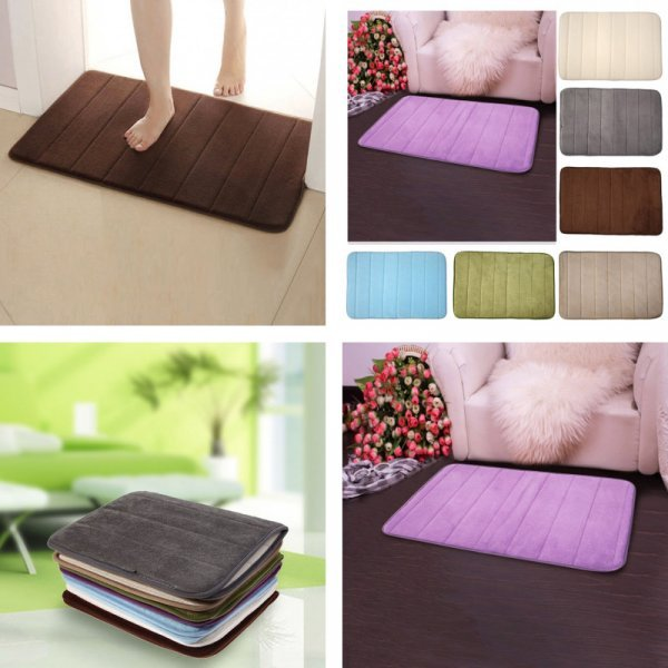 Быстросохнущий коврик для ванной от GUIGUIHU (6 цветов)