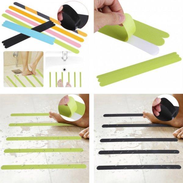 Нескользящие клейкие ленты от OEM (12 шт, 6 цветов)