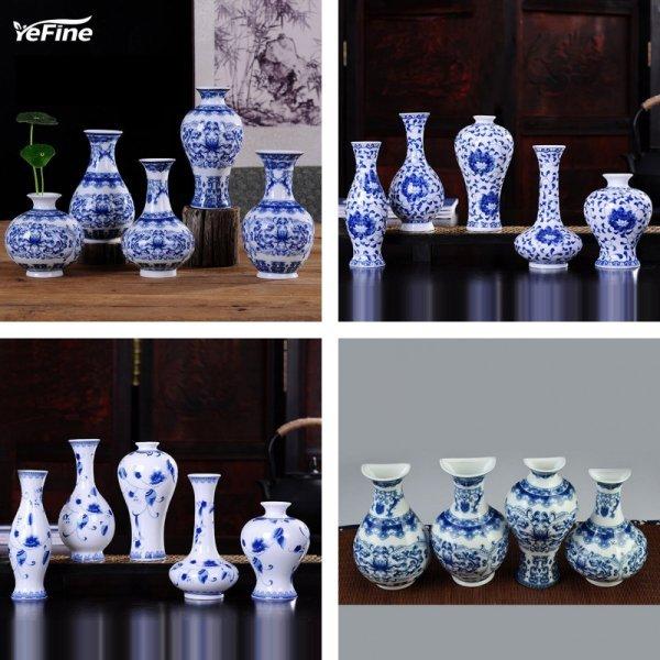 Классические фарфоровые вазы от YEFINE (24 вида, 24 см)