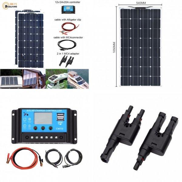 Комплект гибких солнечных панелей от BOGUANG