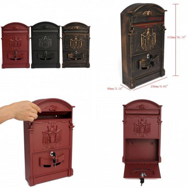 Винтажный почтовый ящик от MY WARM HOUSE (3 вида)