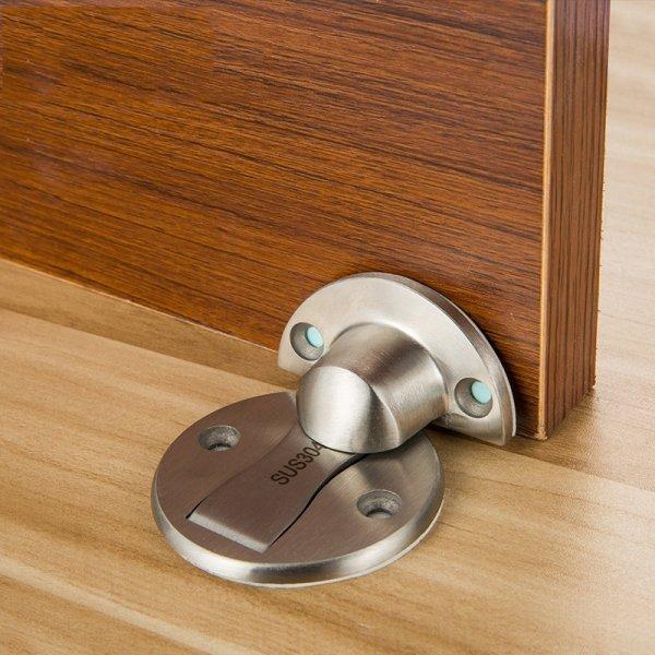 Магнитный фиксатор для дверей (4 цвета, нерж. сталь, 50 мм)