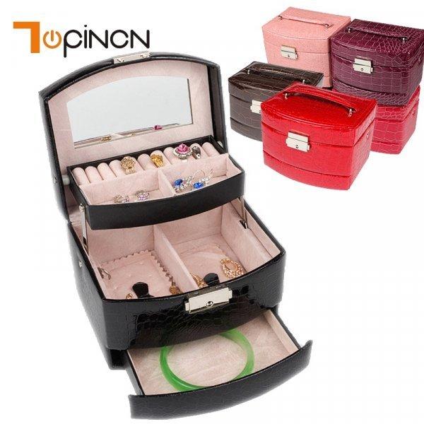 Чемоданчик для украшений от TOPINCN (4 цвета)