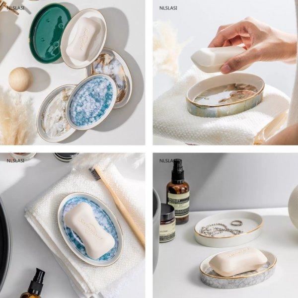 Овальные держатели для мыла
