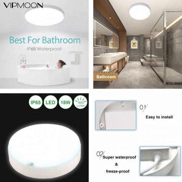 Потолочный светильник для ванной VIPMOON