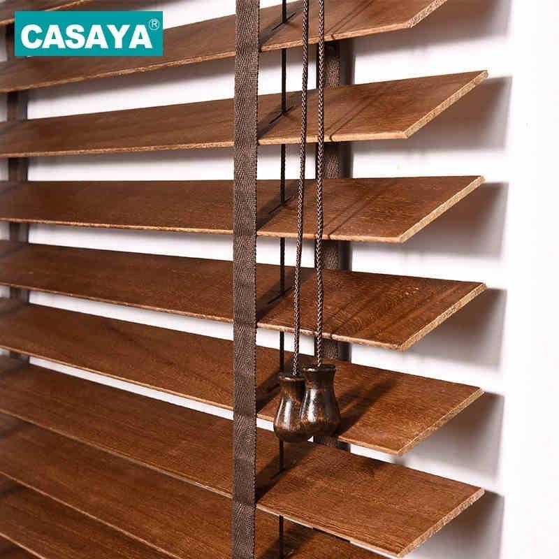 Жалюзи из натурального дерева  от CASAYA (4 цвета)