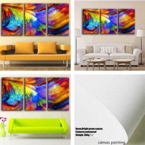 Яркие абстрактные полотна CHENFART