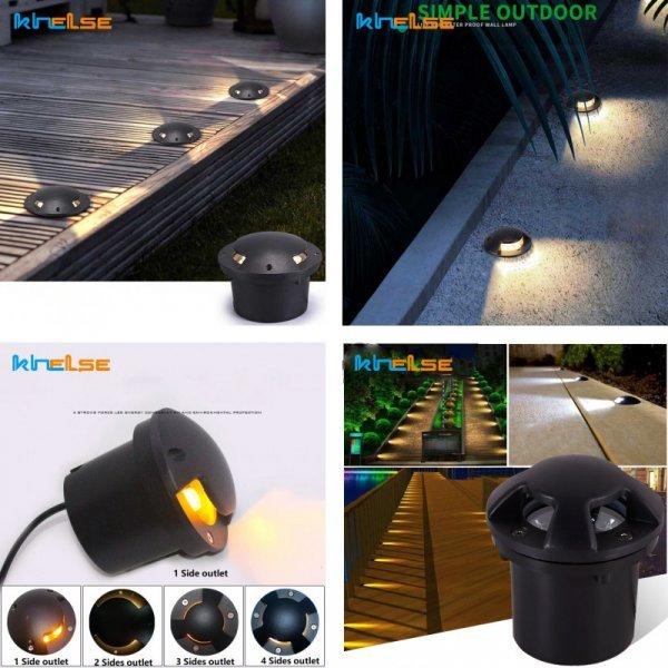 Уличные светильники Khelse (7 цветов, 8 мощностей)