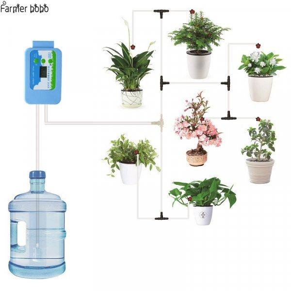 Автоматическая капельная система полива (система, доп. части)