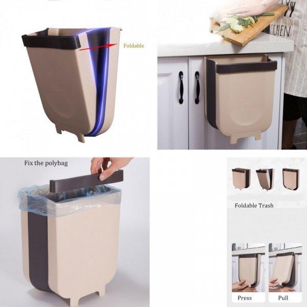 Компактное мусорное ведро