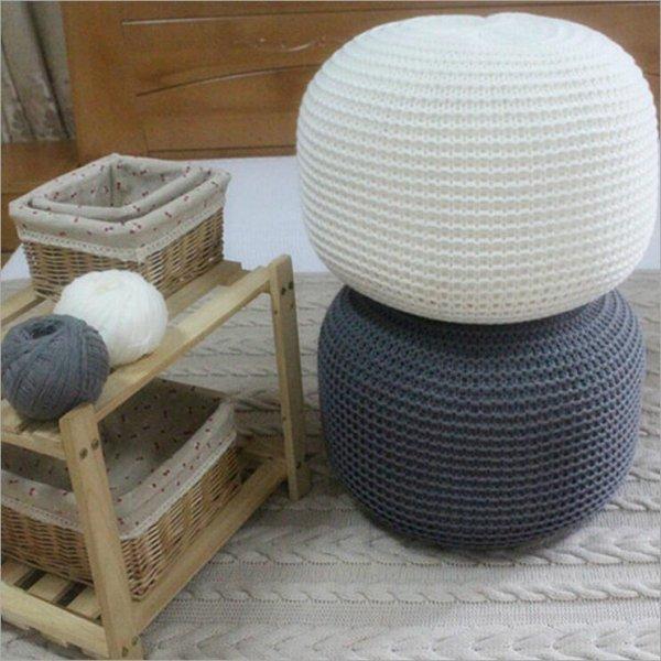 Стильная вязаная подушка от AHLOYALTY (8 цветов)