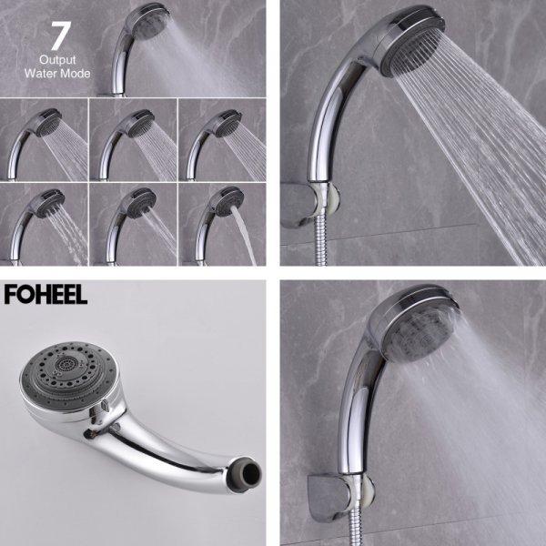 Водосберегающая насадка FOHEEL, с 7-ю  режимами подачи воды