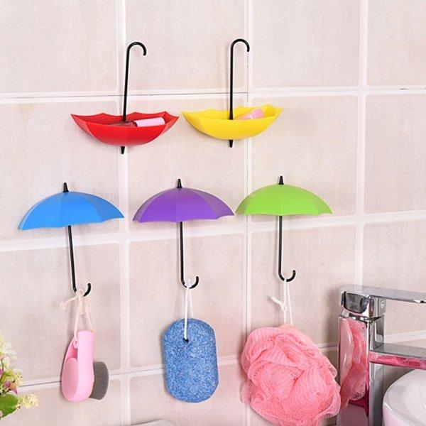 Яркие зонтики 2 в 1 от PUTIMI (3 шт, 6 цветов)
