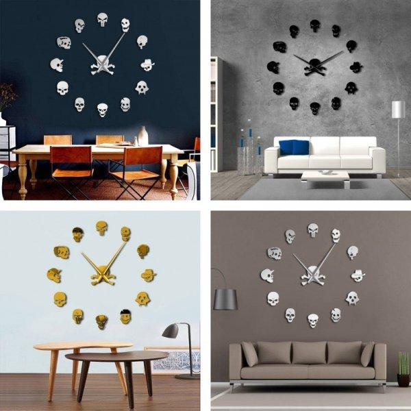 Настенные часы от THE VINIL CLOCK (2 размера, 3 цвета)