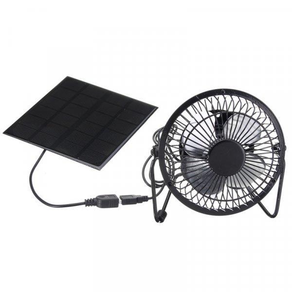 Вентилятор на солнечной батарее от CIKUSO