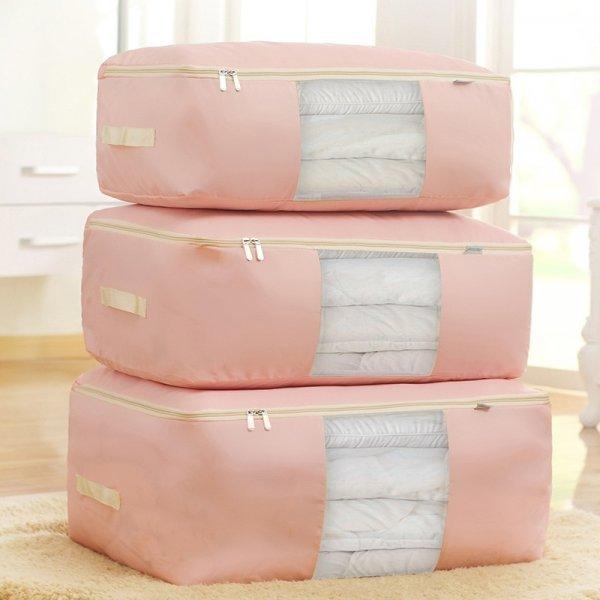 Большая сумка для хранения  вещей (3 цвета, 4 размера)