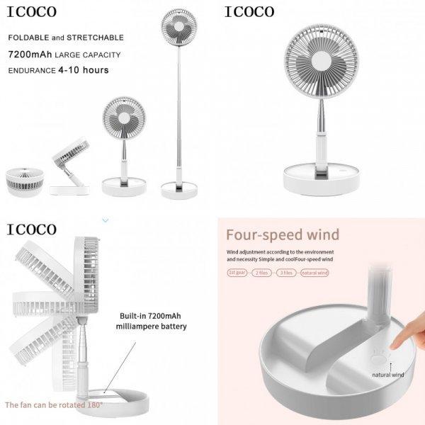 Телескопический вентилятор от ICOCO (2 цвета)