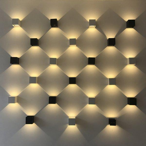 Ультрамодный настенный светильник Dfiolk (2 цвета)