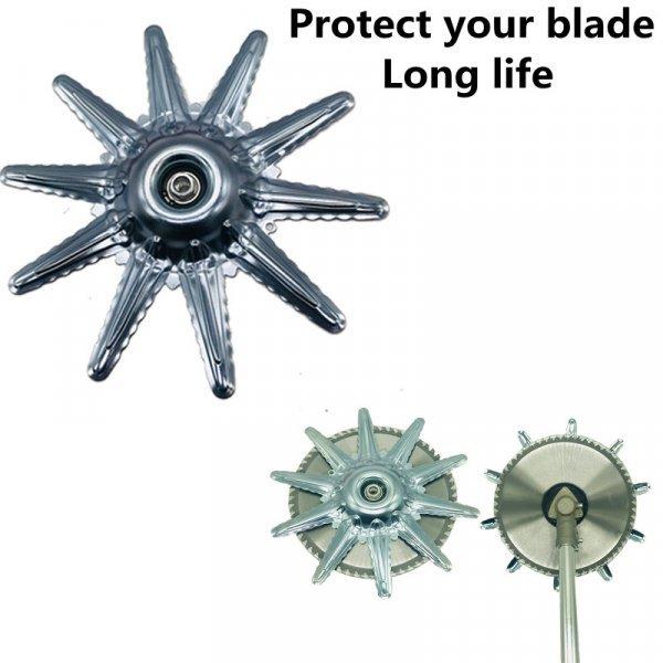 Металлический защитный кожух для лезвия триммера