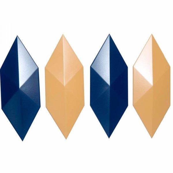 Форма для бетонной плитки форма Алмаз (для 4 плиток)