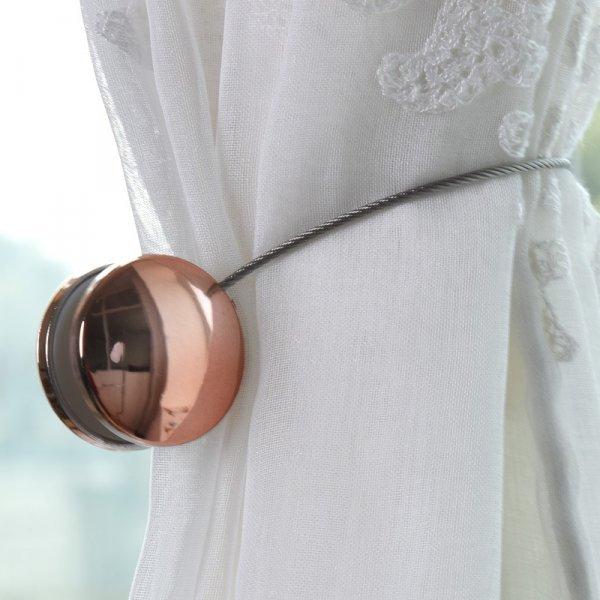 Оригинальный держатель для штор и занавесок (1 шт, 3 цвета)