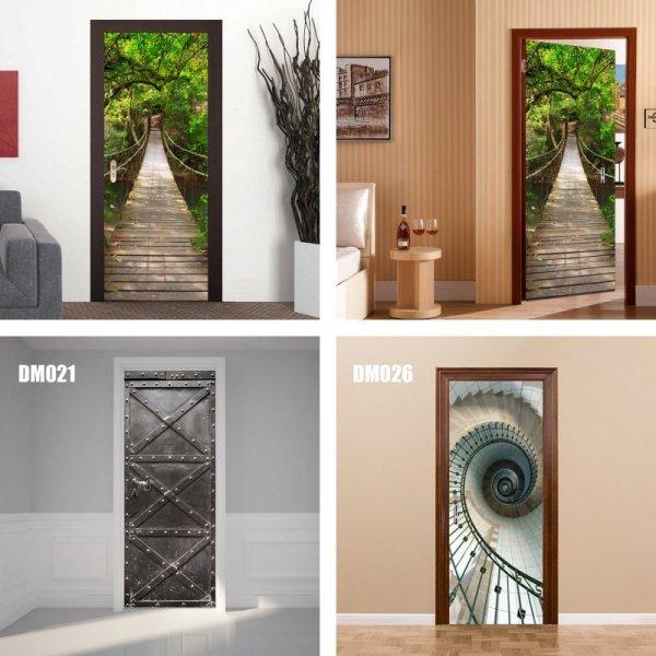 3D стикеры на дверь от ZY STORE (29 принтов)