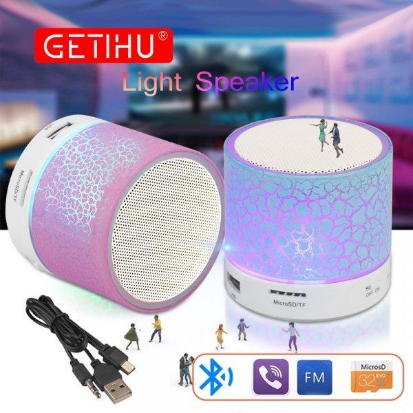 Светодиодный динамик с FM-радио от GETIHU (6 цветов)