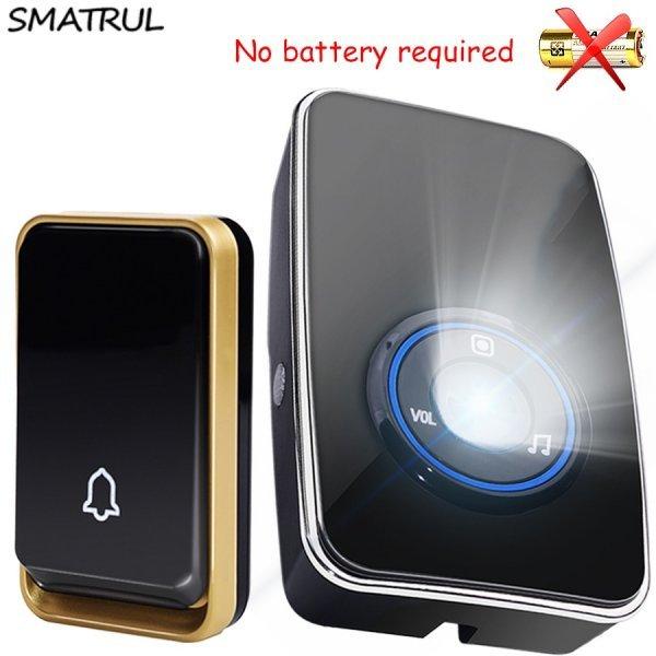 Звонок с автономным питанием от SMATRUL (3 комплектации)