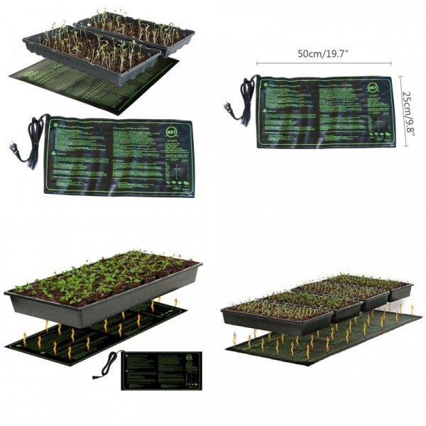 Нагревающийся коврик для проращивания рассады