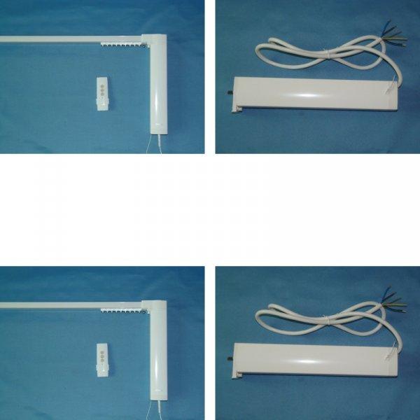 Автоматизированный карниз от SILENT (150 см - 800 см)