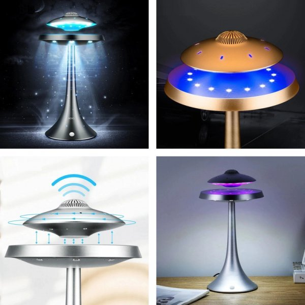 НЛО колонки и лампа