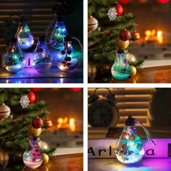 Необычные шары-лампочки
