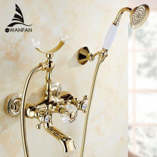 Смеситель с душем от WANFAN (в асортименте)