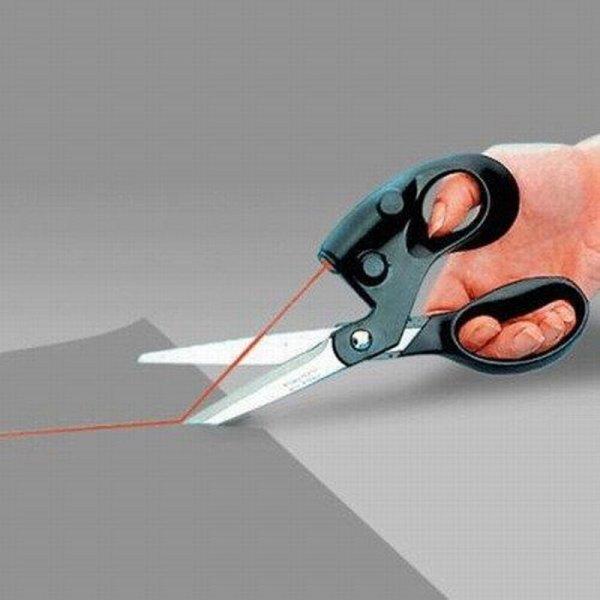 Ножницы с лазерной указкой Halojaju