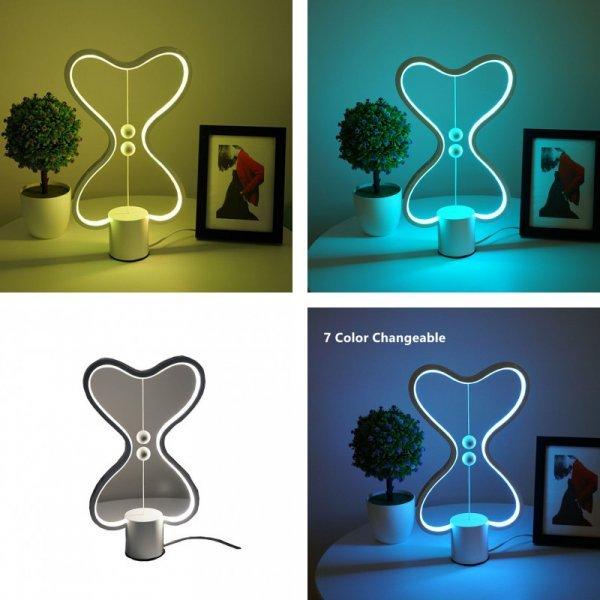 Необычная настольная лампа Homelover (7 режимов)