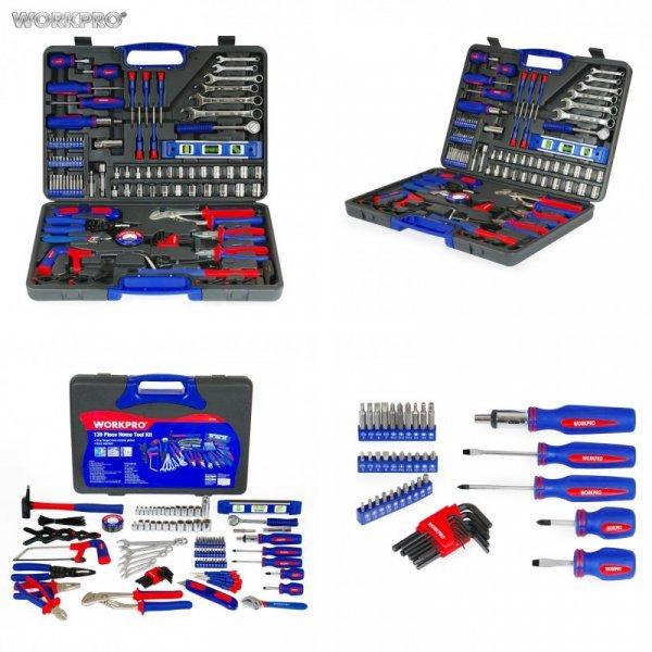 Кейс с инструментами от WORKPRO (139 наименований)