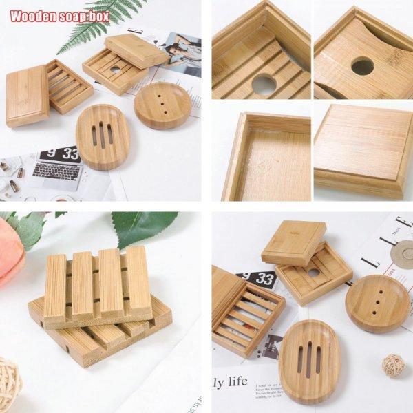 Бамбуковые мыльницы