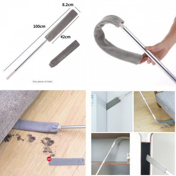 Швабра для уборки под кроватью и в труднодоступных местах