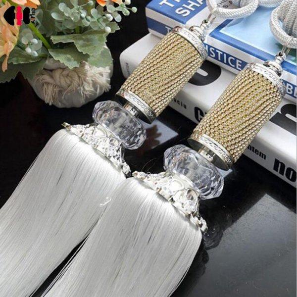 Роскошные держатели с бахромой для штор  AiFish (1 шт, 7 цветов)