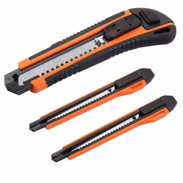 Универсальный строительный нож KSEIBI 313015 (3 лезвия)