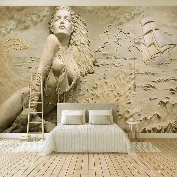 Настенная 3D фреска от JIADOU