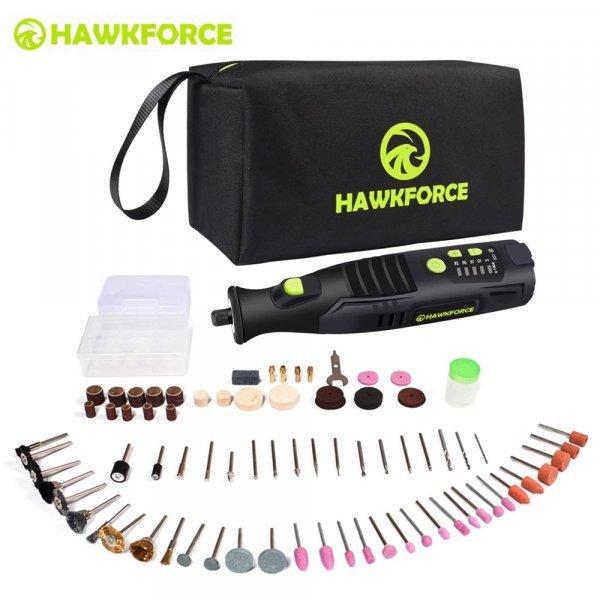 Гравировальная  машинка от HAWKFORCE (2 комплектации)